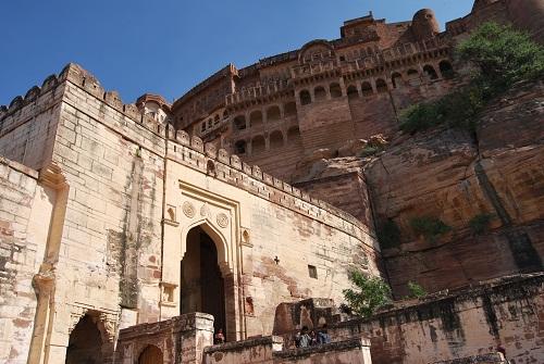 Il Mehrangarh Fort svetta su un altura