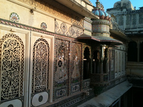 City Palace Udaipur decoration