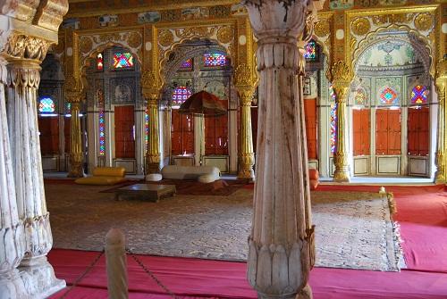 Le splendide decorazioni dei palazzi