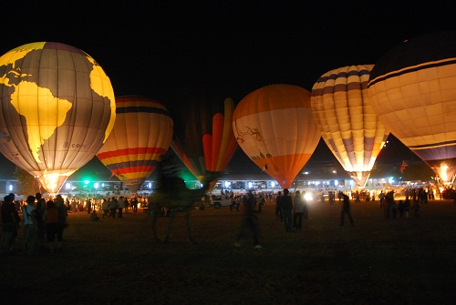 Mongolfiere in Pushkar