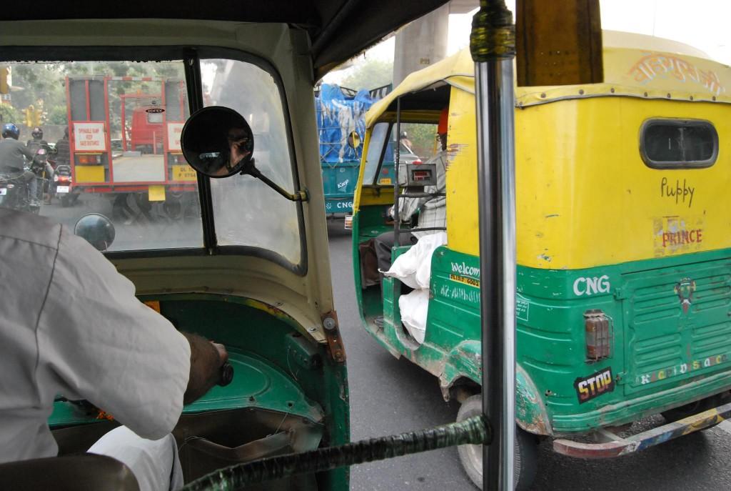 Tuk Tuk India Delhi
