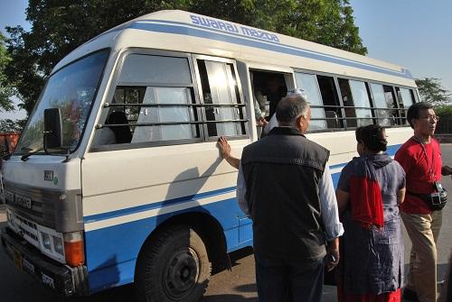Bus navetta Fatehpur Sikri