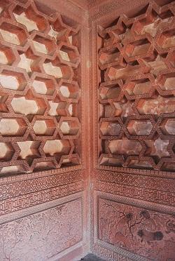 Elementi decorativi Fatehpur Sikri