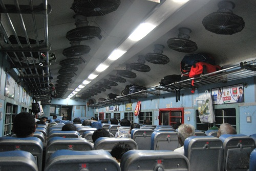 Indian train - third class
