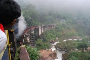 Bridge and Toy Train