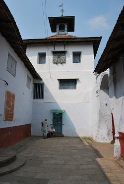 Sinagoga del quartiere ebreo di Fort Cochin