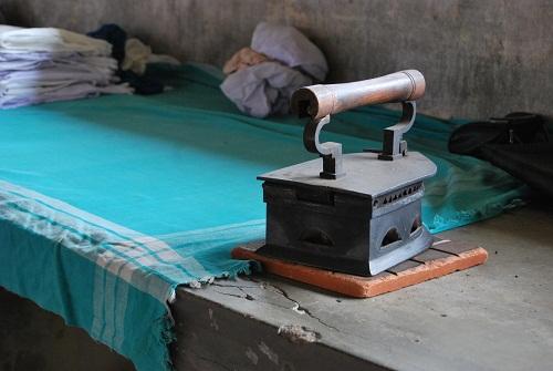 Ferro da stiro nella Dhoby Khana