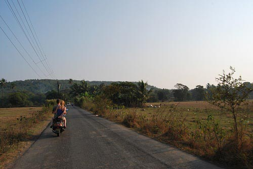 Bardez road - Goa