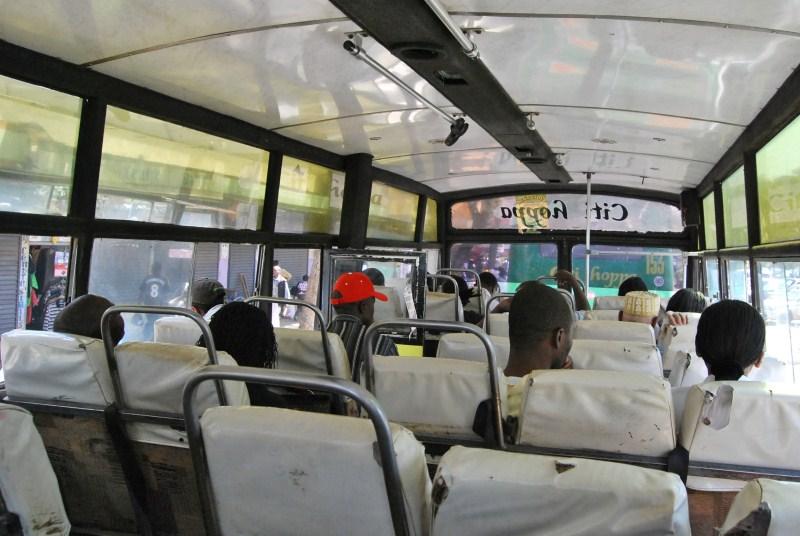 Matatu a Nairobi