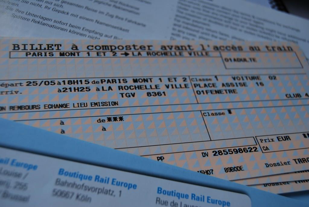biglietto TGV