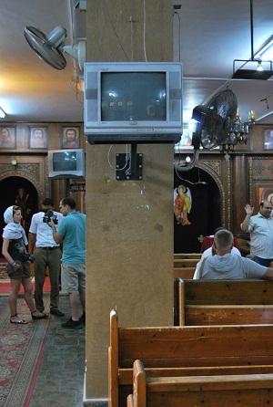 La chiesa di fede Copta ad Hurghada