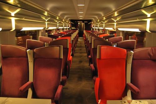 Seconda Classe TGV