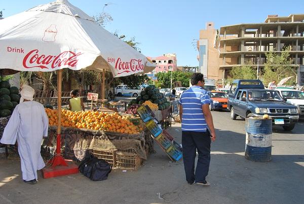 Mercato della frutta ad Hurghada