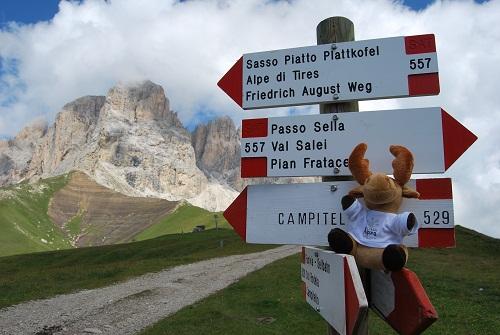 Passo Sella Rifugio Dal Rifugio Passo Sella