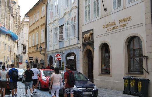 Pub storico Praga Alla Tigre d'Oro