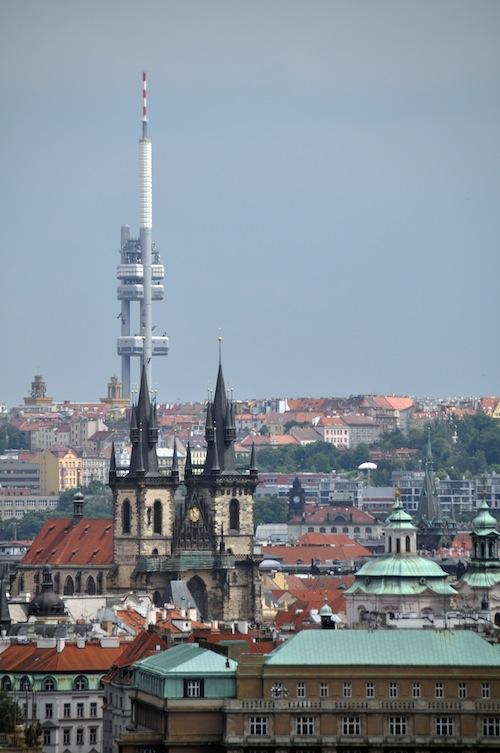 Skyline Praga di Ralf Roletschek