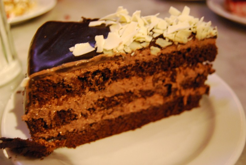 Trionfo di Cioccolato al Café Café - Praga