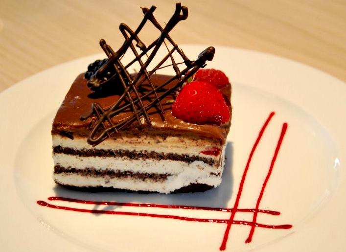 Square Cake Prague