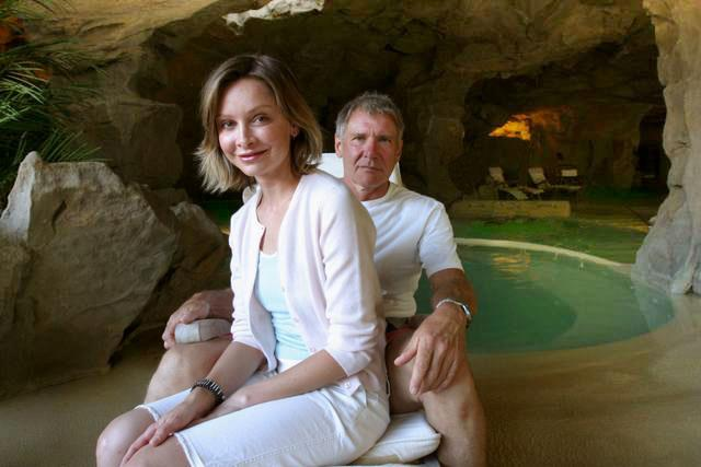 Harrison Ford Calista Flockhart in Tuscany