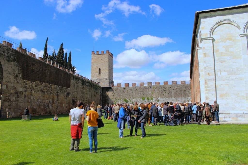 Punto di ritrovo Passeggiata sulle mura di Pisa
