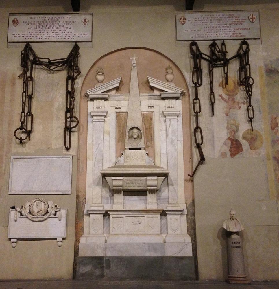 Catene Porto Pisano, battaglia Melorie