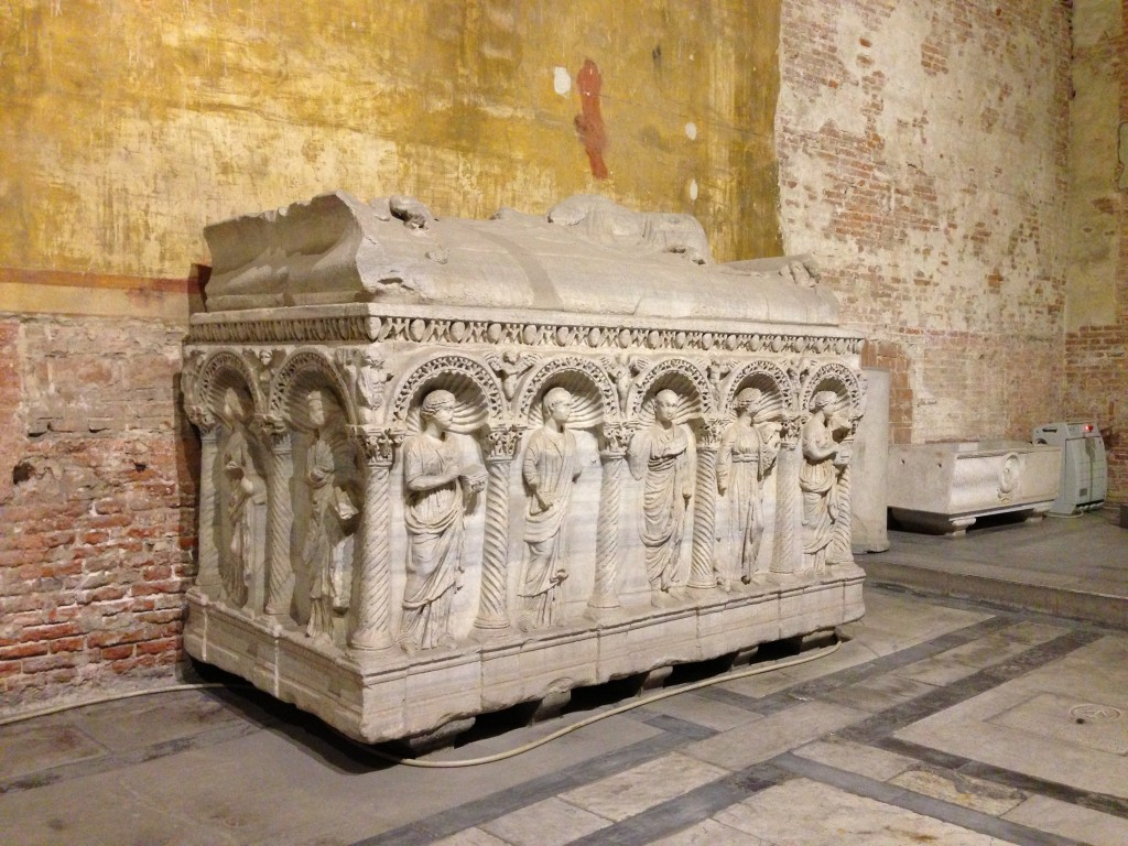 Sarcofago romano matrimoniale