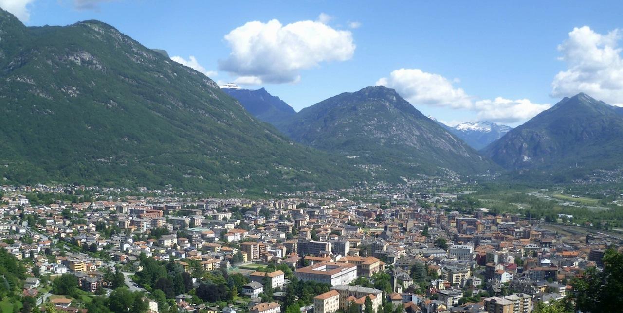 Domodossola vista dal Sacro Monte Calvario