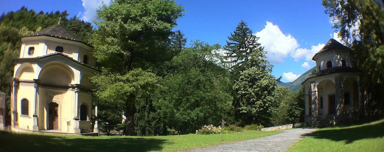 Cappelle all'interno del Sacro Monte Calvario