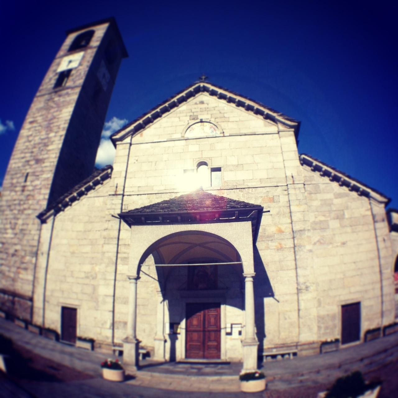 Facciata Chiesa di San Lorenzo