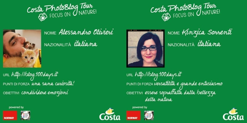 Blog 100day Costa Blog Tour