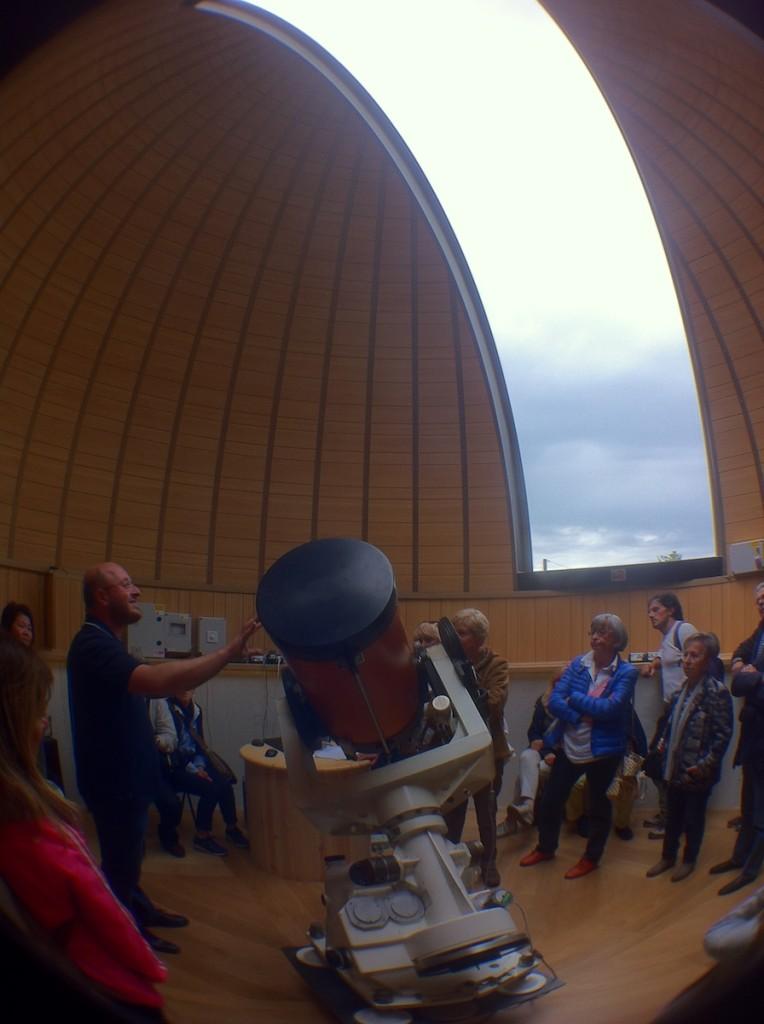 Telescopio e Cupola Osservatorio a Barberino