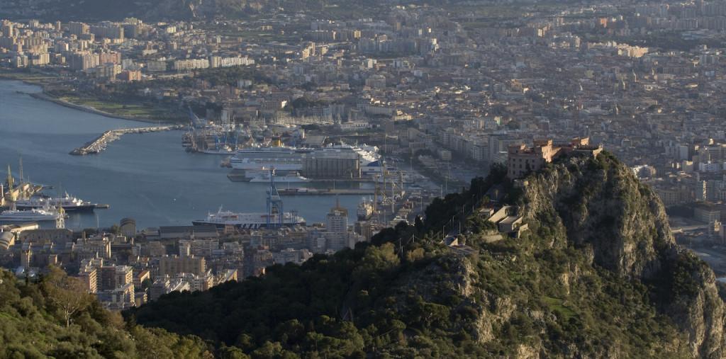 La Città e Castello Utveggio - Foto di Carlo Columba