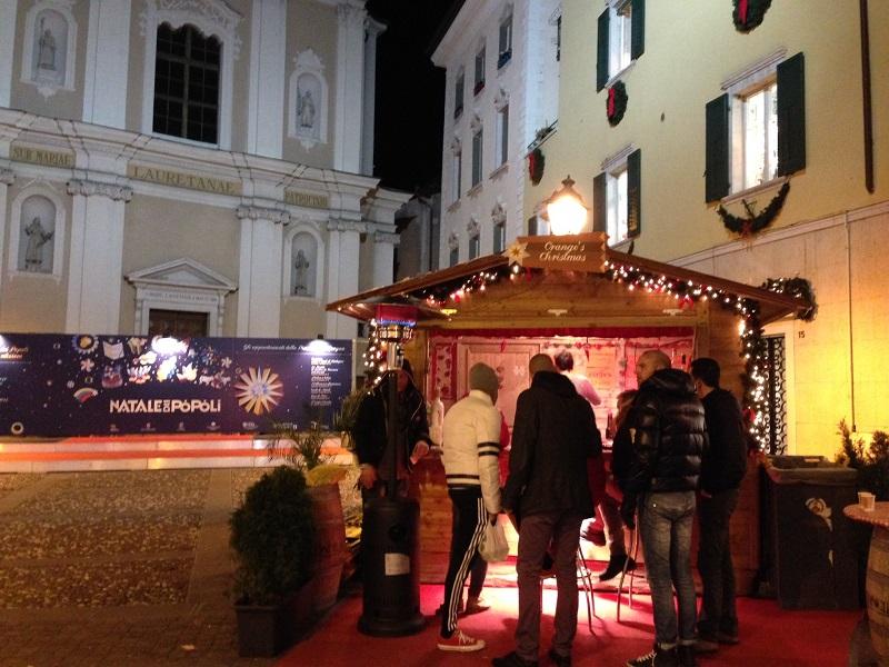 Piazza Loreto, Mercatino dei Popoli Rovereto