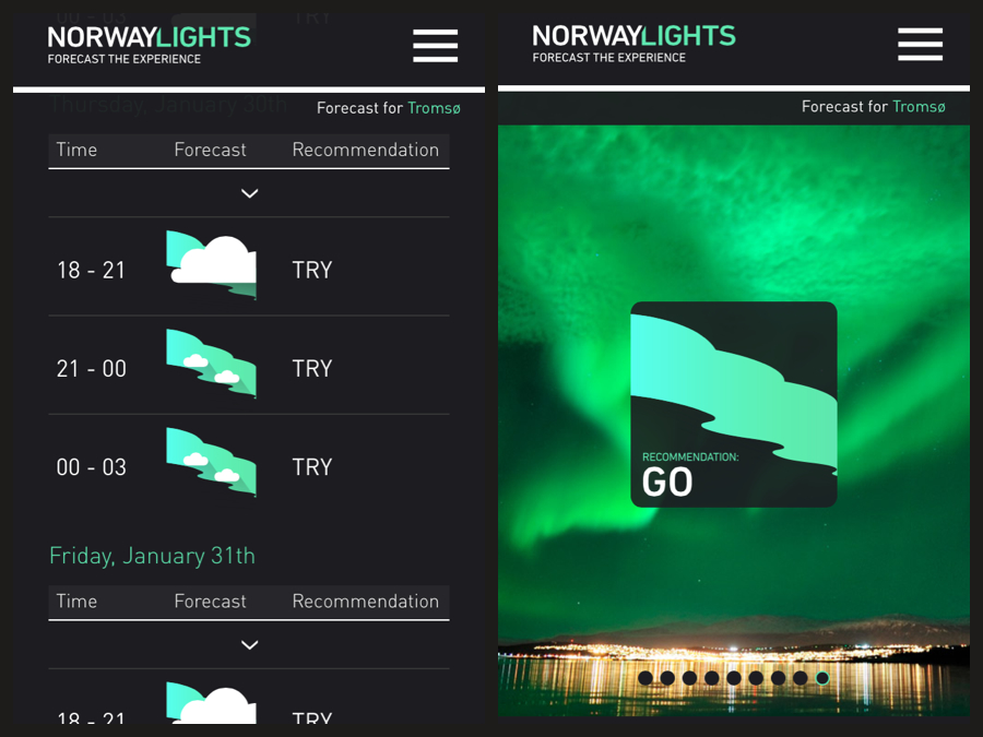 Norway Lights APP