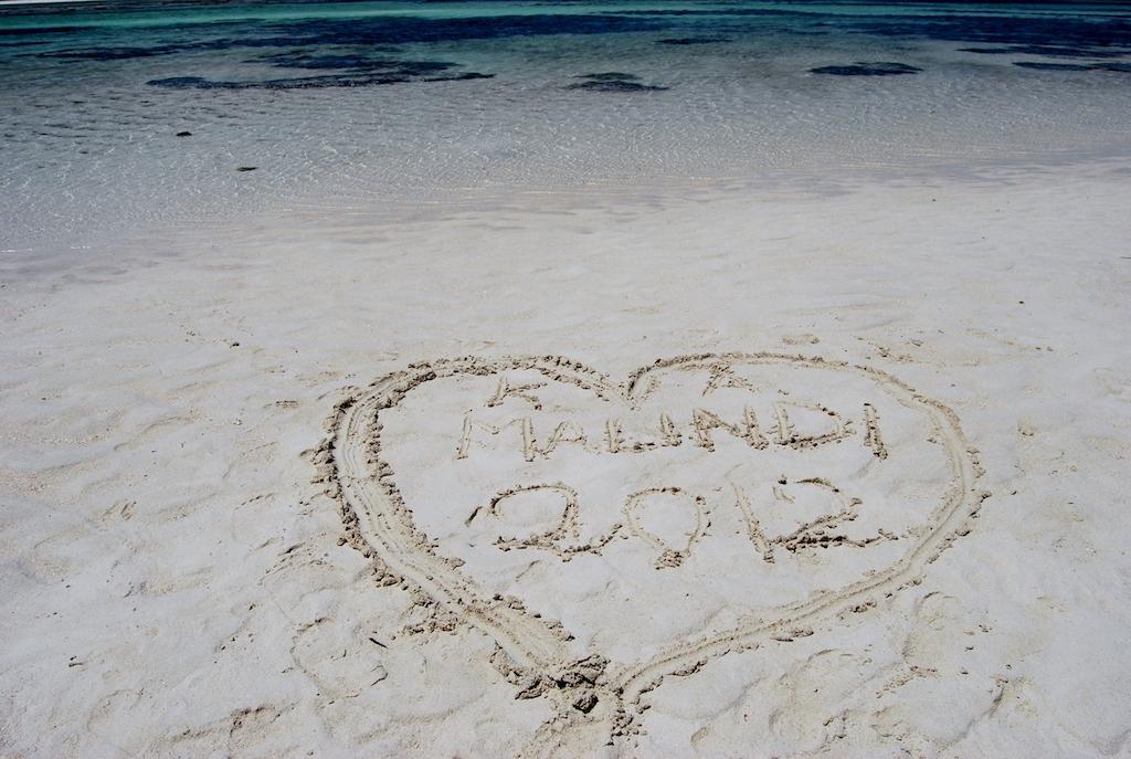 Malindi cuore spiaggia