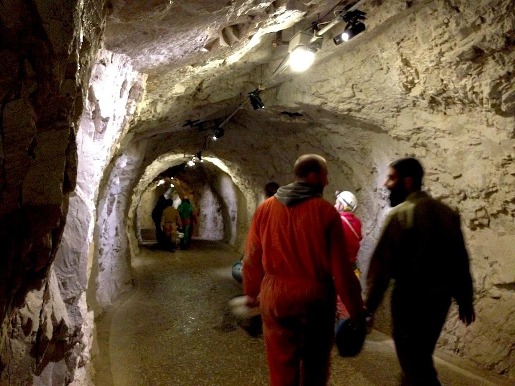 Uscita Grotte di Frasassi