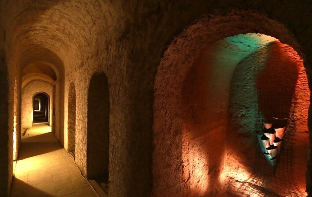 Corridoio Città sotterranea Camerano