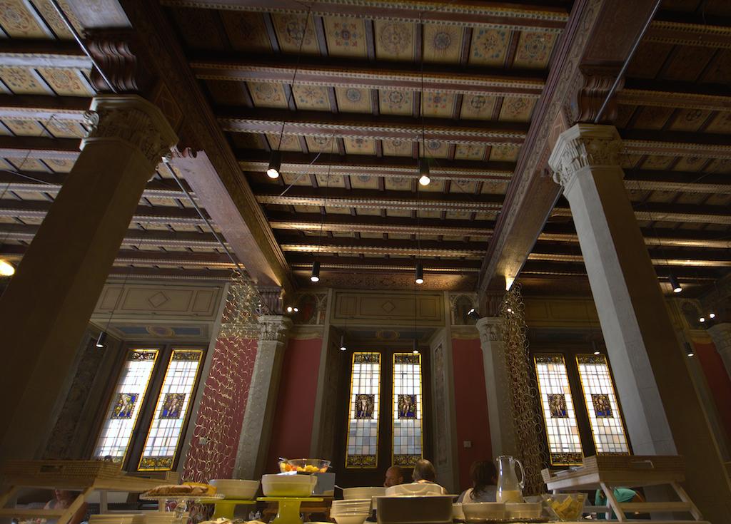 Sala colazioni Grand Hotel Cavour