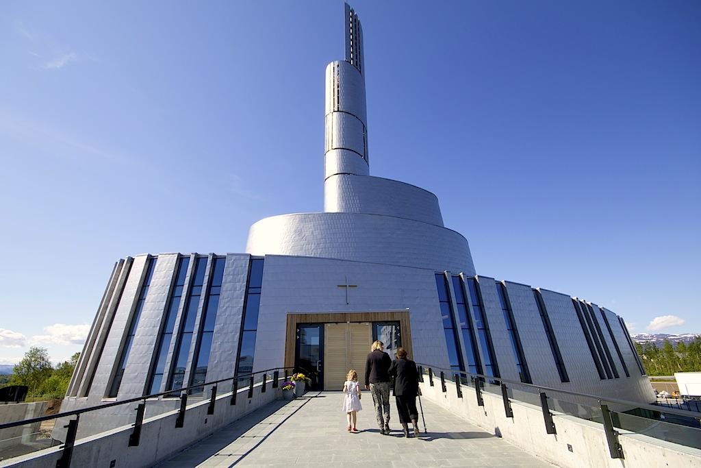Cattedrale della Luce del Nord, Alta, Norvegia