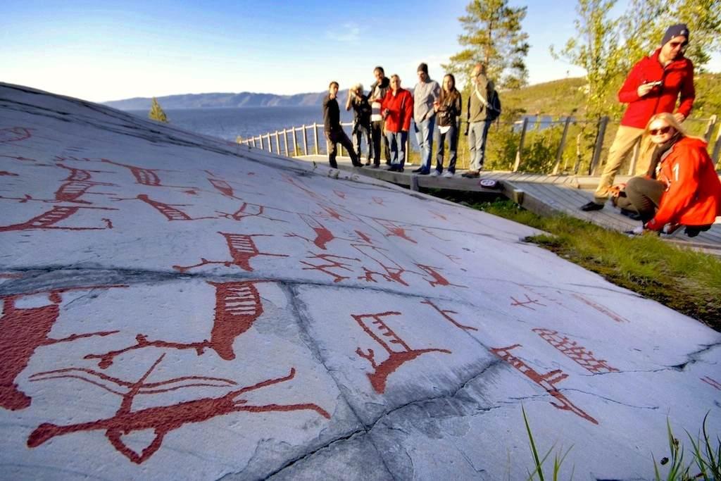 incisioni rupestri Alta, Norvegia