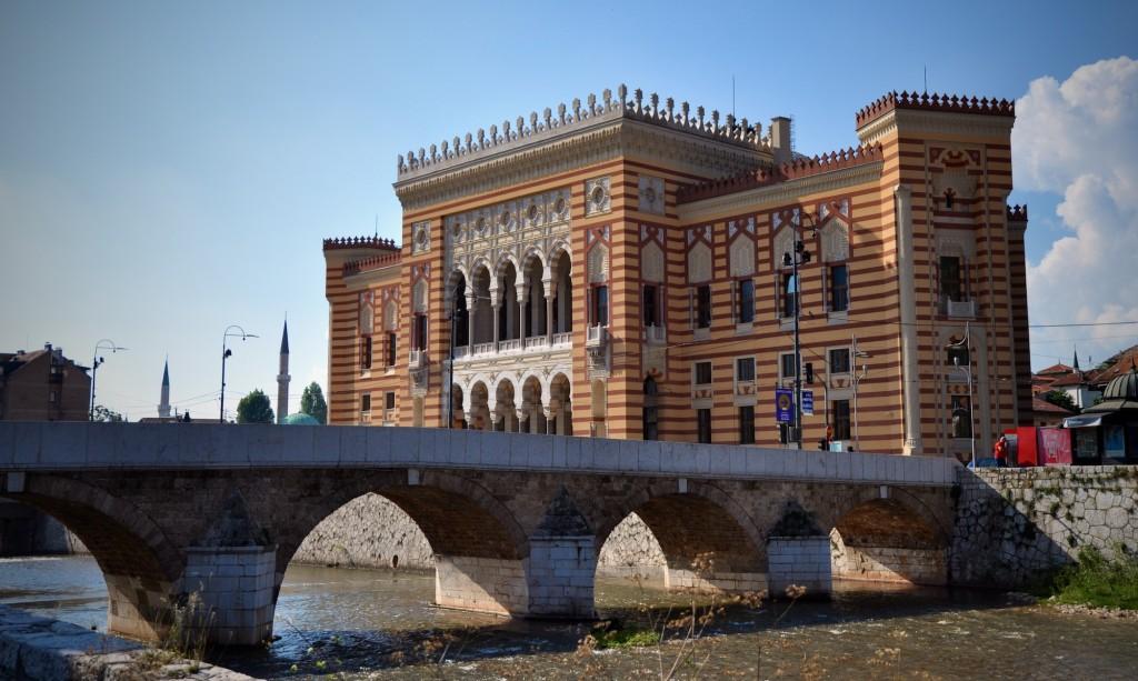 Biblioteca di Bosnia ed Erzegovina a Sarajevo