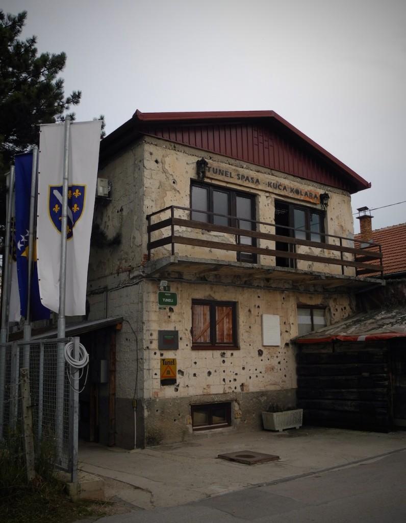 Il Museo del Tunnel a Butmir