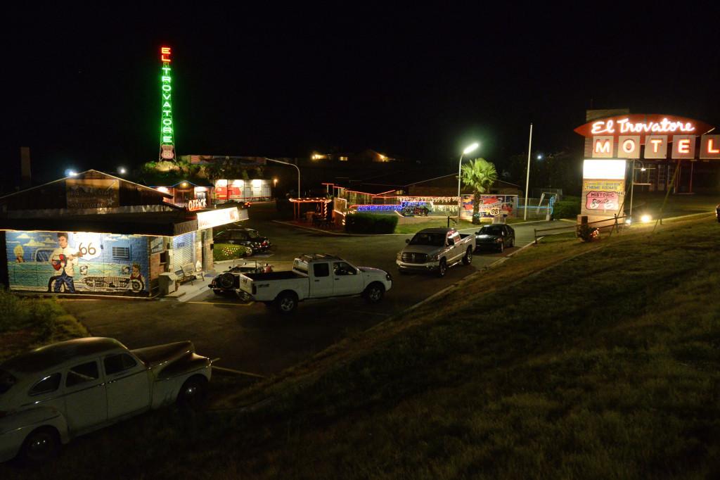 Motel lungo la Route 66