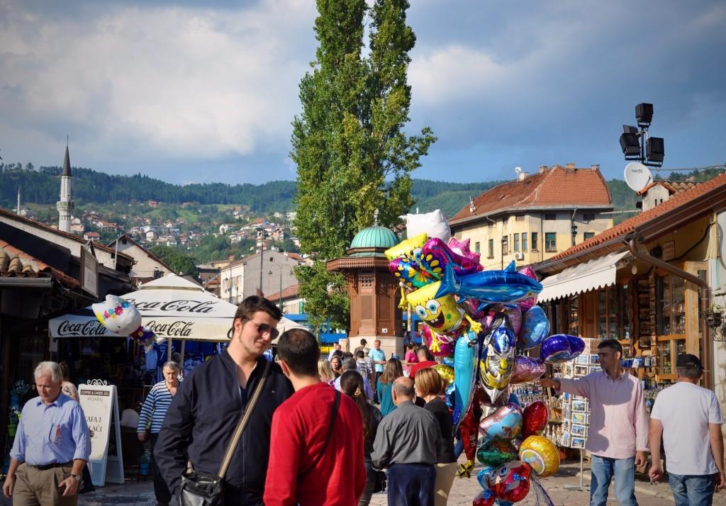 Piazza dei Piccioni, Sarajevo