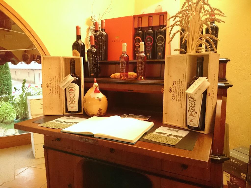 Reception Cantina Petra Toscana