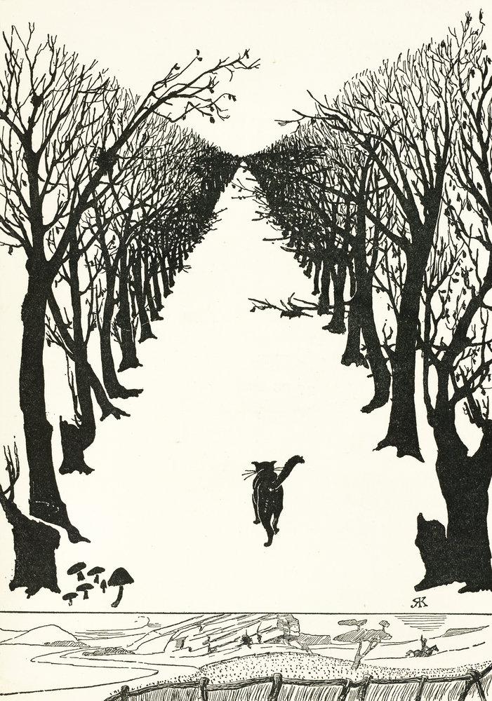 Rudyard Kipling 'il gatto che camminava da solo'