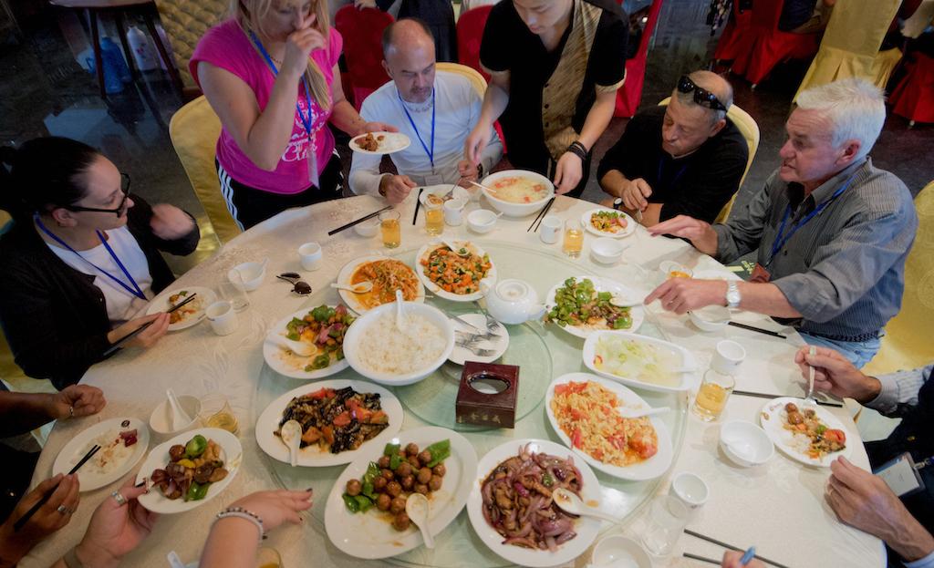 Pranzo in Cina