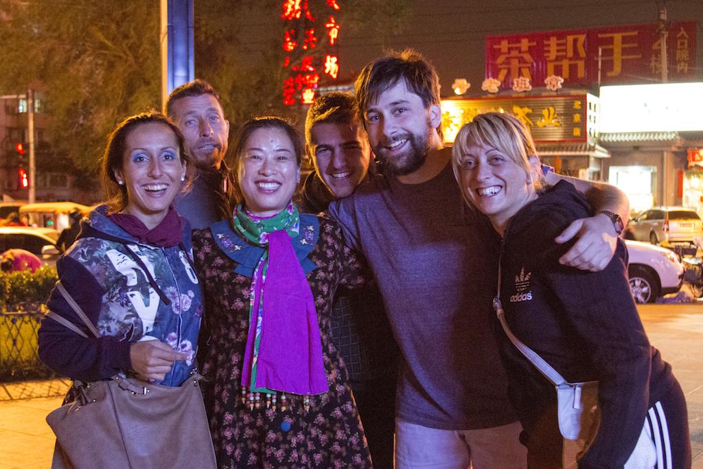Dopo i balli di gruppo... la foto di gruppo!