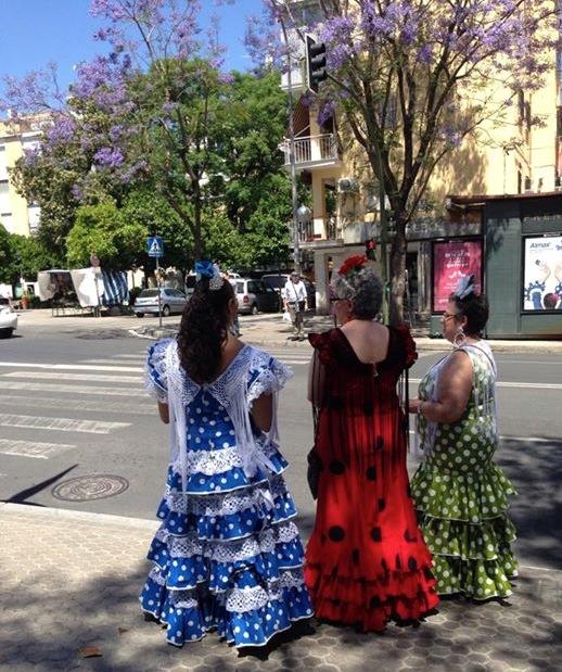 Vestito da flamenco Siviglia