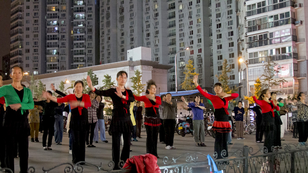 Balli di gruppo a Pechino, Cina